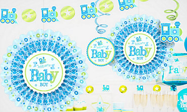 boys baby shower decorations - Boy Baby Shower Decorations