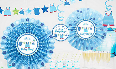 its a boy baby shower decorations - Boy Baby Shower Decorations