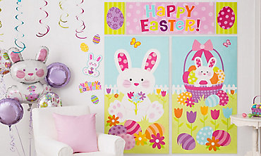 Wall and Window Easter Decorations