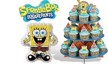 SpongeBob Cake Supplies
