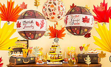 Fall Hanging Decorations