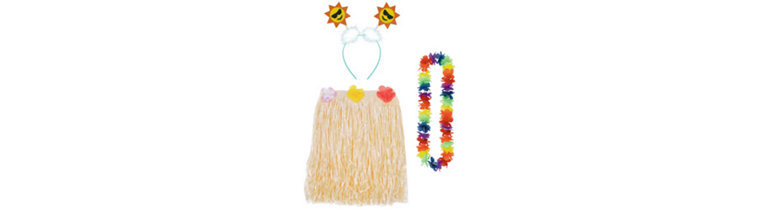 Kids Luau Party Pack for 8 Guests