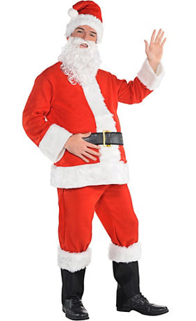 Party City Santa Claus Suit