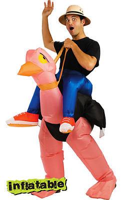 Adult Inflatable Ollie Ostrich Costume