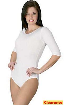 Adult White Bodysuit Plus Size