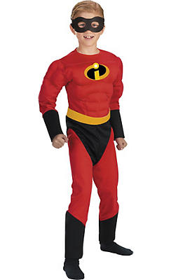 Boys Dash Muscle Costume - The Incredibles