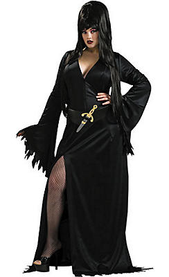 Adult Elvira Costume Plus Size