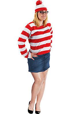 Adult Wenda Costume Plus Size - Where's Waldo?