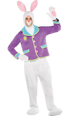 Adult Purple Bunny Costume