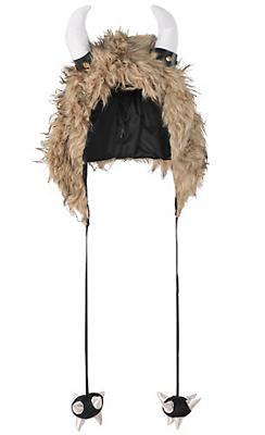 Furry Viking Hood
