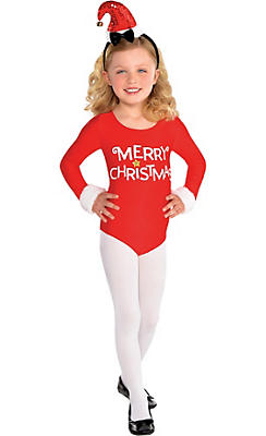 Child Santa Bodysuit
