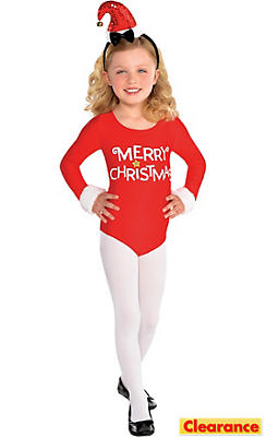 Child Santa Bodysuit