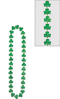 Frenzy of Shamrocks Necklace