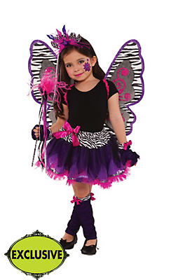 Girls Fierce Fairy Costume