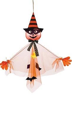 Hanging Jack-o'-Lantern Scarecrow