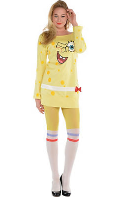 SpongeBob Long-Sleeve Dress