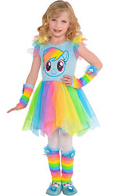 Child Rainbow Dash Tutu Dress - My Little Pony