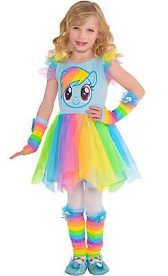 Child Rainbow Dash Tutu Dress - My Little Pony