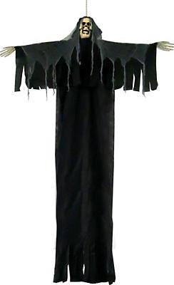 Large Hanging Black Grim Reaper