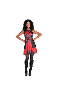 Fit & Flare Deadpool Dress