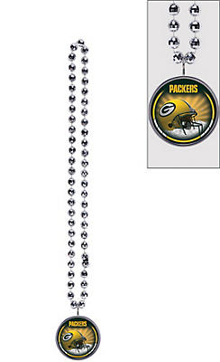 Green Bay Packers Bottle Opener Bead Necklace