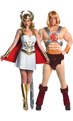 He-Man and She Ra Couples Costumes