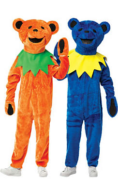 Grateful Dead Bear Couples Costumes