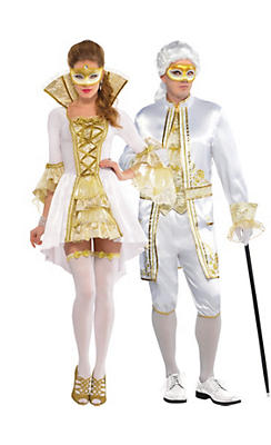Venetian Couples Costumes