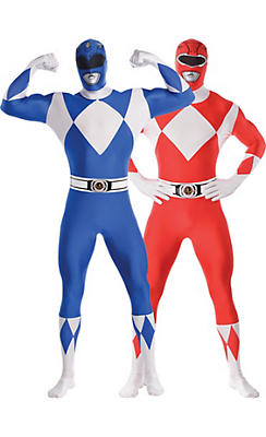 Adult Power Rangers Couples Costumes