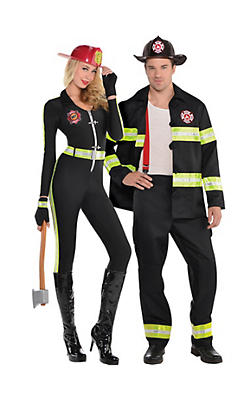 Firefighter Couples Costumes