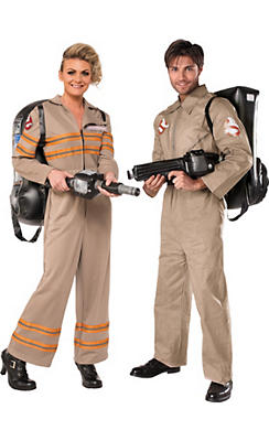 Adult Ghostbuster Couples Costumes