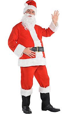 Adult Flannel Santa Suit