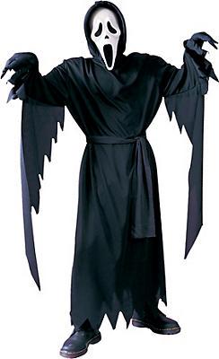 Boys Ghost Face Costume - Scream
