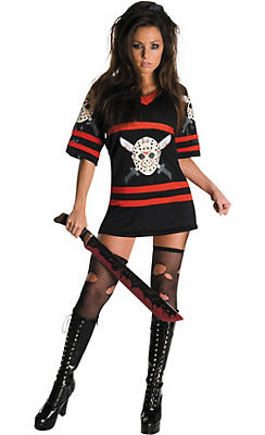 Adult Miss Jason V. Costume - Friday the 13th