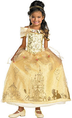 Girls Belle Costume Prestige
