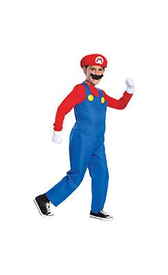 Boys Mario Costume Deluxe - Super Mario Brothers