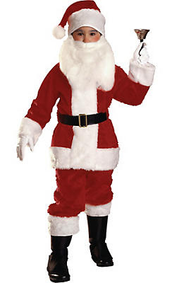 Rubie's Costume Co Santa Claus Costume Adult Deluxe Plush Christmas Costume for Men Fancy Dress. Sold by 7th Avenue Store. add to compare compare now. $ $ RG Costumes L Santa Claus Adult Hoodie Costume, Large - Red & White. Sold by shopnew-5uel8qry.cf, Inc.
