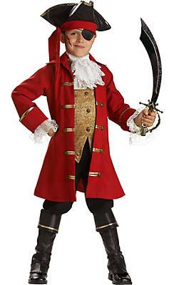 Boys Pirate Captain Costume Elite