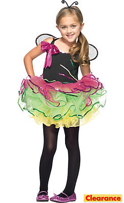 Girls Rainbow Bug Costume