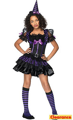 Teen Girls Spellcasting Sweetie Costume