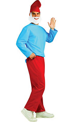 Adult Papa Smurf Costume - The Smurfs