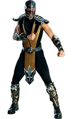 Adult Scorpion Costume – Mortal Kombat
