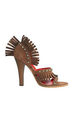 Fringed Western Shoes
