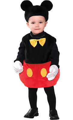 baby mickey mouse costume - Baby Halloween Coatumes