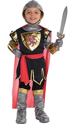 Little Boys Brave Crusader Costume