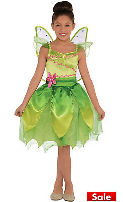 Girls Classic Tinker Bell Costume