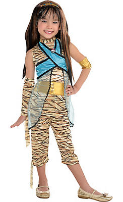 Little Girls Cleo de Nile Costume Deluxe - Monster High