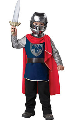 Toddler Boys Gallant Knight Costume