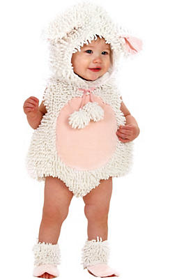 Baby Laura the Lamb Costume