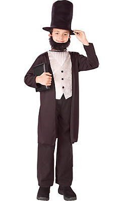 Boys Abe Lincoln Costume